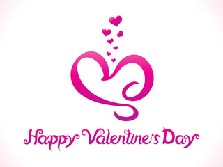 abstract artistic valentine day background