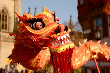 Liverpool Chinese New Year - Enter the dragon