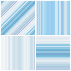 Abstract Striped Seamless Pattern Set