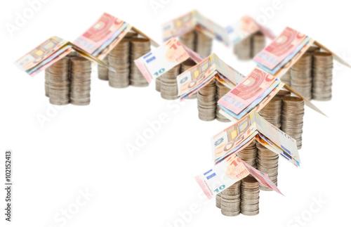 euro h user investition immobilien stockfotos und lizenzfreie bilder auf bild. Black Bedroom Furniture Sets. Home Design Ideas
