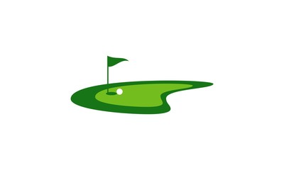 lanscape golf logo