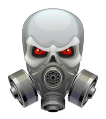 Skull toxic mask