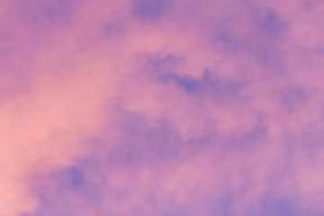 bright sunset sky background