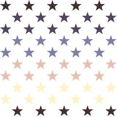 Seamless Abstract Modern Stars Pattern