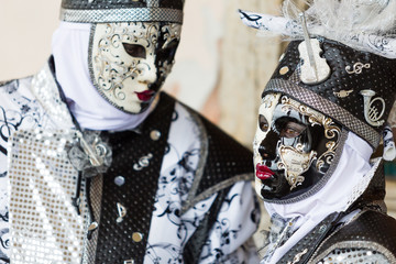Carnival of Venice, beautiful masks