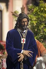 Semana santa de Sevilla, Jesús cautivo y rescatado