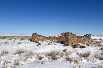Guard House Ruin, Fort Craig Historic Site, NM