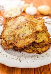 Fried potato pancake