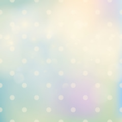pastel soft background with dots