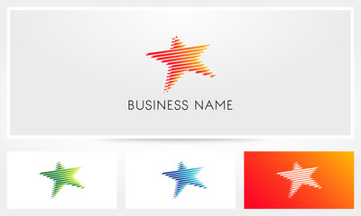Striped Star Logo