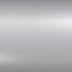 Metal background. Polished chrome surface.