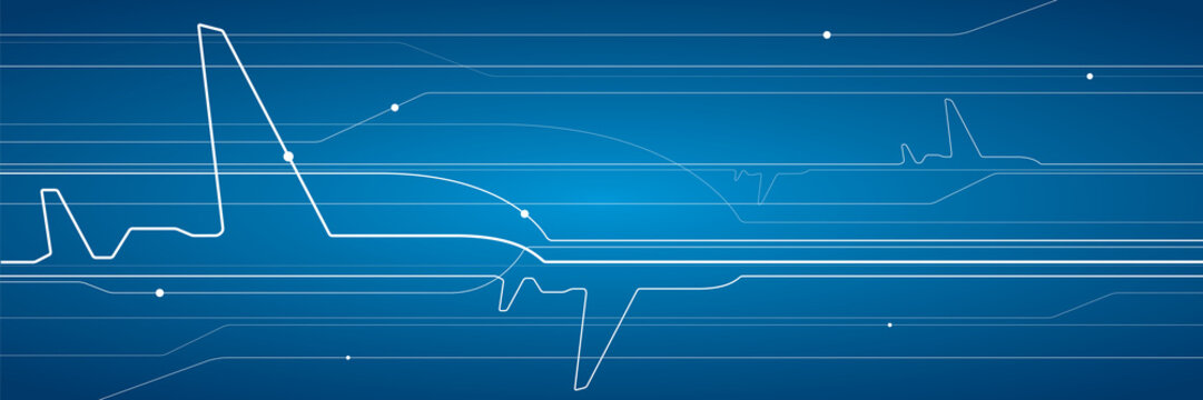 Abstract airplane, vector design lines background, aviation wallpaper