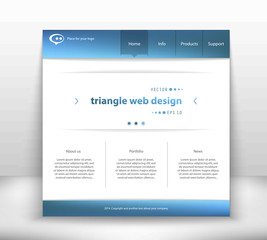 Abstract Creative concept vector website template. For modern web and mobile Applications isolated on background, interface, illustration design, business infographic and social multimedia icon.