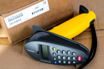 Barcode Scanner Reader and UPC Box