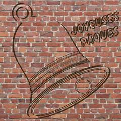 Cloche de Pâques street art