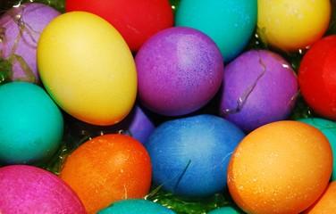 Vibrant Easter Eggs