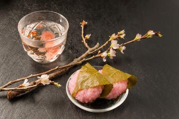 さくら茶 Cherry blossom(sakura) japanese Herb tea