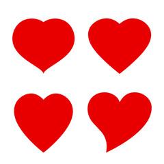 Heart vector shape icon