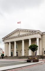 Town Hall Square, Vilnius,  Bernardino. Vilnius, Lithuania