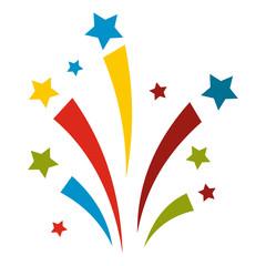 Firework flat icon