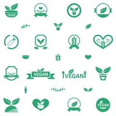 Vegetarian Food Icons