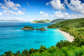St. John USVI at Trunk Bay