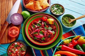 Cochinita Pibil Mexican food with red onion