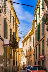 Wall Mural - Altstadt Gebäude Fassaden Alt Antik Mediterran