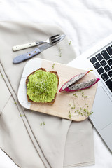 business veggi frühstück