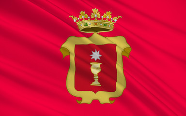 Flag of Cuenca is a city of Spain