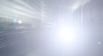 abstraction in the data center and mainframe-style blur light