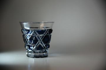 切子の冷酒グラス