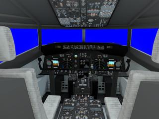 旅客機 コクピット