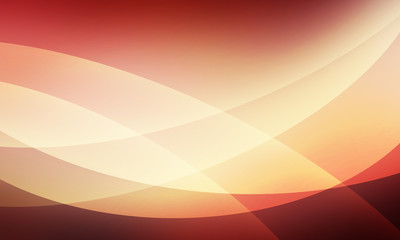 abstract background with curved lines and layers pattern