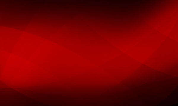 red and black background design with intersecting wavy lines in abstract pattern, dramatic spotlight stripe in bright red lighting shines on striped layout
