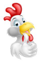 Cartoon Happy Chicken
