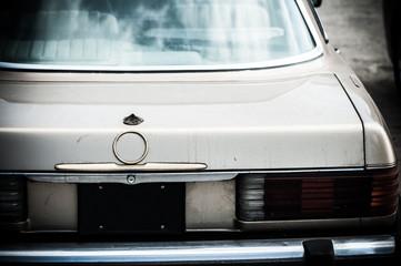 古い車,トランク
