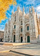 Duomo of Milan, Italy.