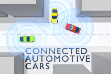 connected autonomous cars