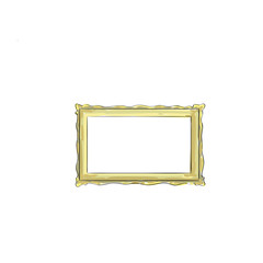 Sketch Frame Hand Draw Vintage Vector Illustration