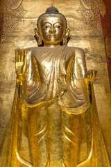 Buddha image at Ananda temple
