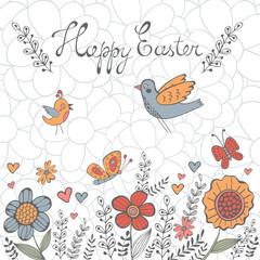 Elegant Easter post card
