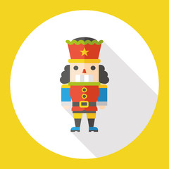 toy soldier flat icon
