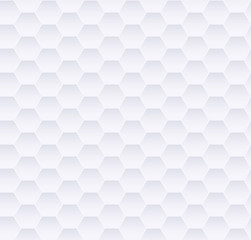 White abstract geometric background texture with diamonds, seamless