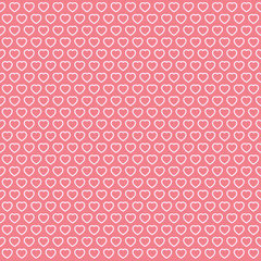 Love background, Valentines wallpaper, heart texture, vector design