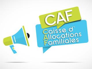 mégaphone : CAF