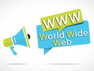 megaphone : WWW