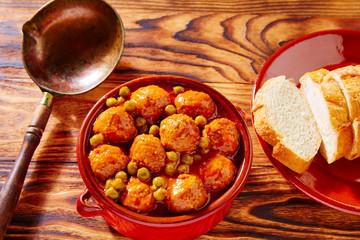 Meatballs tapas meatloaf albondiga recipe