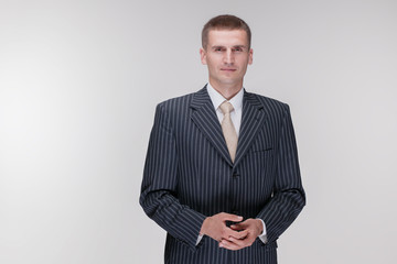 black suit businessman