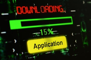 Downloading Application